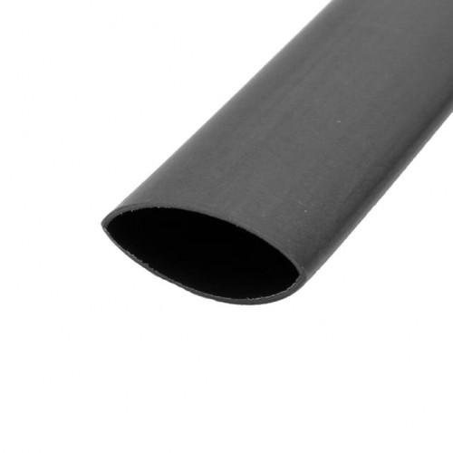 FLAT HEAT SHRINK PE TYPE BLACK 1.2mt/Lgt