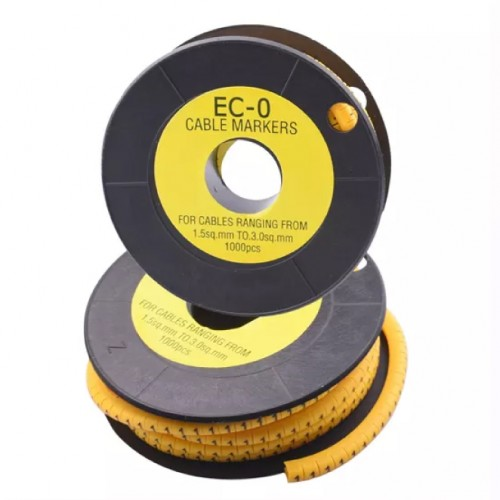 ROUND CABLE MARKER EC-0