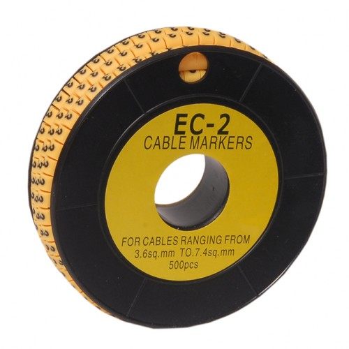 ROUND CABLE MARKER EC-2