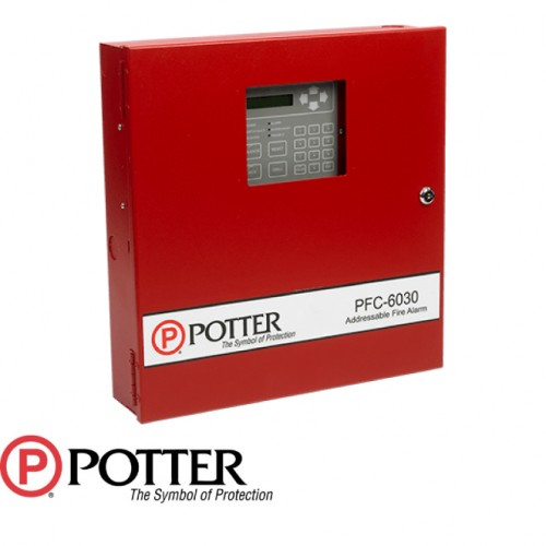 30 Point Addressable Fire Alarm Control Panel