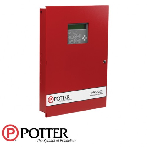 127 Expandable to 254 Points Addressable Fire Alarm Control Panel