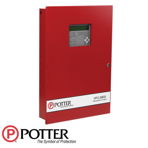 127 Expandable to 1,016 Point Addressable Fire Alarm Control Panel