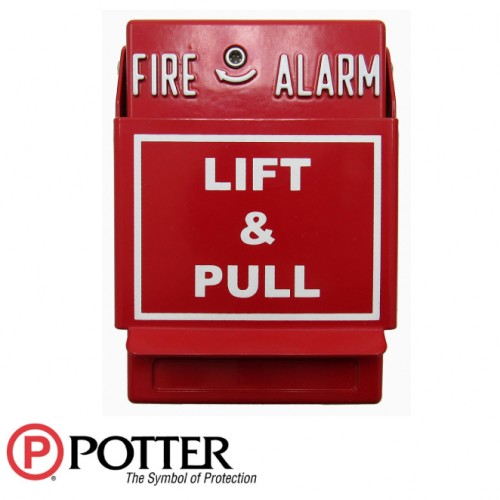 P32-1T-LP Dual Action Fire Pull Station