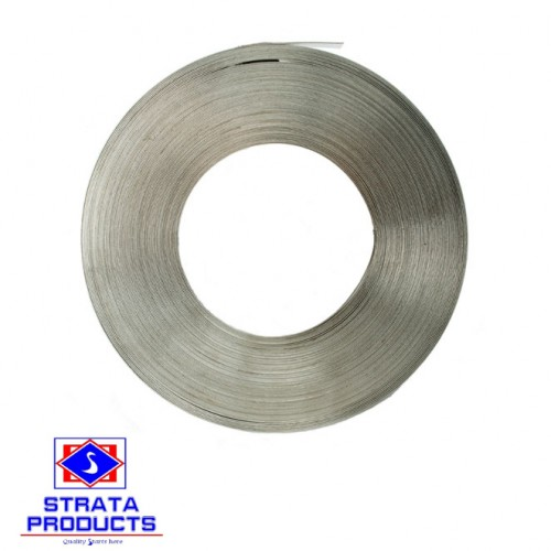 """3/4"""" X 100FT STAINLESS STEEL BAND"""