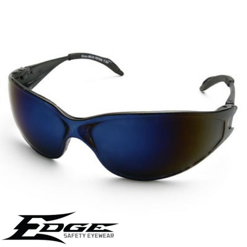 Edge Kirova Safety Glass - Blue Mirror Lens