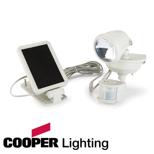 Motion Activated Solar Powered LED Floodlight