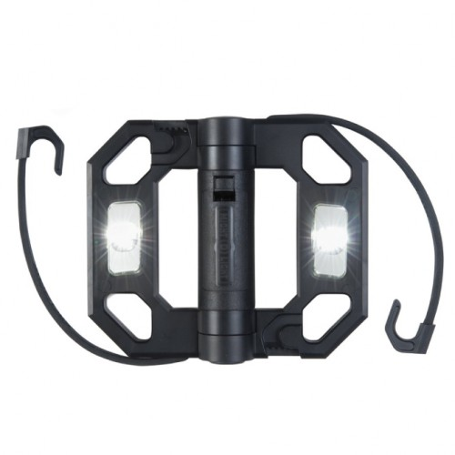 LED Compact Folding Black Worklight