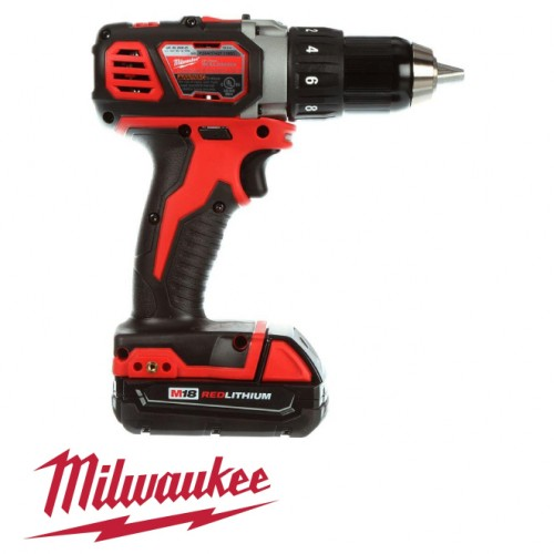 Milwaukee  M18 Lithium-Ion Hammer Drill Kit
