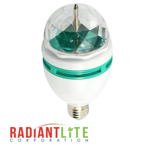 3W LED COLOR CHANGING DISCO BULB