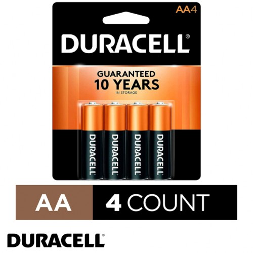 AA Copper Alkaline Batteries