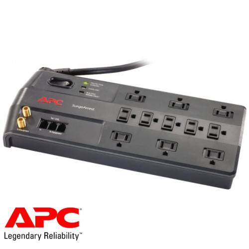 APC Performance SurgeArrest 11 Outlet with Phone (Splitter) and Coax Protection, 120V