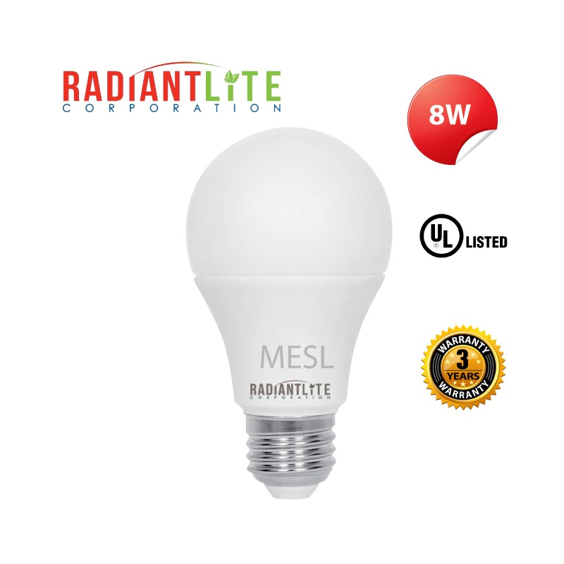 LED DUSK TO DAWN BULB 8W