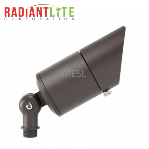 6W 12V Low Voltage Aluminum Integrated Up Light, Short Cowl