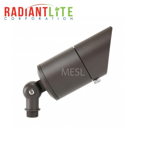 10W 12V Low Voltage Aluminum Integrated Up Light, Short Cowl