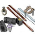 COPPER LUGS / RODS & CLAMP