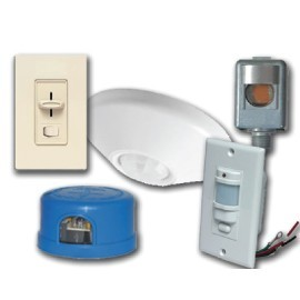 LIGHT CONTROLS, DIMMERS, SENSORS, PHOTOCELL