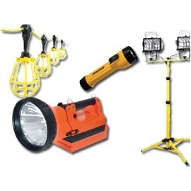 HAND, PORTABLE, WORK & JOBSITE LIGHTS