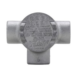 CONDUIT OUTLET BOX WITH COVER