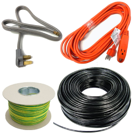 Wires, Cords & Cables